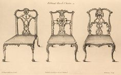 Möbel        Titelbeschreibung Chippendale, Thomas        Annotation Deutsch The Gentleman and Cabinet-Maker's Director: Being a large collection of the most elegant and useful designs of household furniture, in the most fashionable taste. Including a great variety of chairs, sofas, beds (...) and other ornaments, to which is pref  700  €