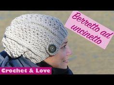 Berretto di lana ad uncinetto - YouTube Cappelli All uncinetto 3a23c68ea17e
