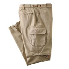 Women's Bush Poplin Convertible Pants - These are super comfortable and easy to change - TravelSmith is easy to order from - TheOpportunisticTravelers.com