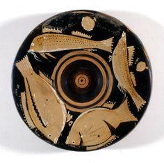 Museo Arqueológico Nacional-Plato de pescado-360[ac]-330[ac] (360-330 a.C.)-Cultura Griega-Apulia -S.O.R.