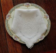 Gypsy Purple: French Find: Antique French Linens