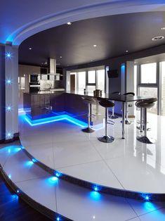 /one-world-design-contemporary-kitchen-london world-Lighting