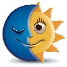 Sun ♡ Moon   Rock Art   Emoji faces, Emoticon faces, Emoji love