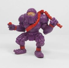 Monster Wrestlers In My Pocket - W12 Nuclear Ninja - Meg - Figures - Retro Toys