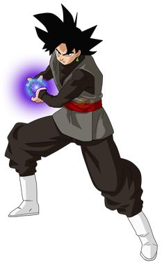 Black Goku Powe kii by jaredsongohan on DeviantArt