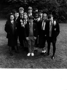 Class of Grange Hill. Kids Shows, Tv Shows, Kids Tv, Film Quotes, Childhood Memories, Tv Series, British, History, Life