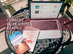 Current Quarantine Reads - Canadian Creative Book Club Becca Tobin, John Grisham, Act Like A Lady, Belly Laughs, Day Trips, No Time For Me, Audio Books, Really Cool Stuff, My Books