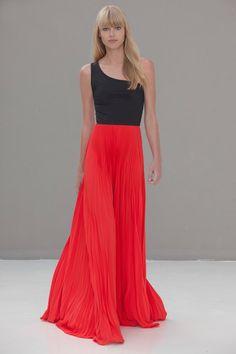 Zabrina Two-Tone Pleated Dress on HauteLook