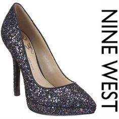 Price Drop Love Fury Nine West Sparkle Heels