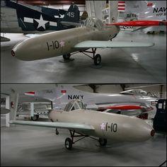 Yokosuka MXY7 Ohka I-10 captured in 1945 (Yanks Air Museum in 2013)