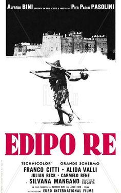 Edipo re -  1967, basato sull'omonima tragedia di Sofocle, diretto da Pier Paolo Pasolini