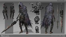 ArtStation - Character design, Min Zhang