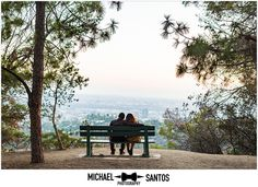 GRIFFITH OBSERVATORY ENGAGEMENT | CHRIS AND ALYSSA