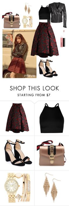 """h a n I f o r I n s t y l e"" by catezovi ❤ liked on Polyvore featuring H&M, Chicwish, Boohoo, Nasty Gal, Jessica Carlyle, Treasure & Bond and MAC Cosmetics"