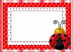 Let's Party - Ladybug - Onofer-Köteles Zsuzsánna - Picasa-Webalben Ladybug Invitations, Free Printable Birthday Invitations, Baby Ladybug, Ladybug Party, Personalized Picture Frames, Personalized Note Cards, Printable Lables, Free Printables, Preschool Printables