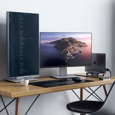 With our Type-C Dual Multimedia Adapter, you can be more productive than ever before! Are you ready to take your setup to the next level? Computer Desk Setup, Gaming Room Setup, Pc Desk, Pc Setup, Work Desk, Home Office Setup, Home Office Space, Home Office Design, Office Designs