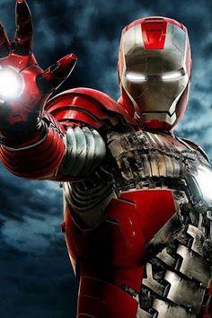 Iron man suit case model