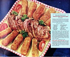 Dinner is Fried - Crisco Potato Logs