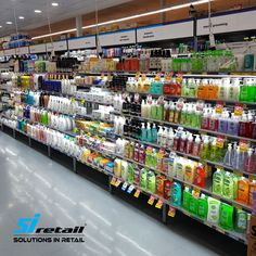 Our Magnetic Ezi-LED shelf strip lights being used in Ritchies at Carrum Downs! How good does it make their products look! Led Shelf Lighting, Accent Lighting, Strip Lighting, Led Strip, Retail, Shelves, Kit, Lights, Store