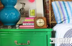 How to Style a Nightstand #theeverygirl