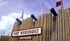 Timucua Indians Weapons | fort_menendez_frontage_5x3.jpg