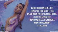 Ariana Grande - God is a woman (Lyric Video) Christopher Evans, Free Songs, Audio Songs, Mp3 Song Download, Thank U, News Songs, Song Lyrics, Ariana Grande, Shit Happens
