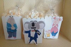 Sing Movie Party Popcorn or Favor Boxes  Set of 10