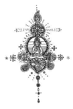 buddha tattoo | Tumblr