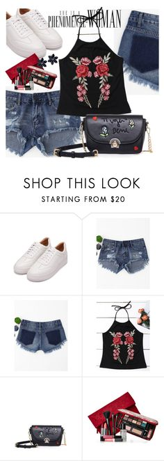 """""""ZAFUL"""" by allanaaa11 ❤ liked on Polyvore featuring Elizabeth Arden, dress, sammer and zaful"""