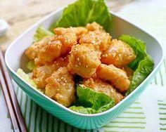 Honey Chicken - Easy Recipes at RasaMalaysia.com *** Honey Garlic Sauce Recipe  ***