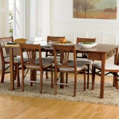 Expandable Wood Table: Console, card table or Dining table (72x40 fully extended) - $399