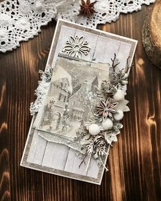 Christmas Art, Christmas Presents, Xmas Theme, Winter Cards, Graphic 45, Scrapbooks, Embroidery Stitches, Gift Tags, Greeting Cards