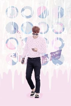 EXO Zhang Yixing Wallpaper by pastel.ohsehun at Instagram #kpop #wallpaper #Yixing #Lay #EXO