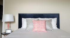 Page Gray Duvet by Crane & Canopy - perfect for a guest room! (sponsored)