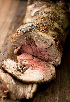 Roast Leg of Lamb ~ Classic roast leg of lamb recipe. Leg of lamb marinated in a citrus rosemary marinade, then oven seared and slow roasted. Roast Lamb Leg, Lamb Chops, Lamb Shanks, Cooking A Roast, Cooking Time, Lamb Recipes, Cooking Recipes, Entree Recipes, Yummy Recipes