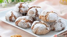 Christmas Biscuits, Biscotti Cookies, Snowball Cookies, Christmas Entertaining, Cookie Desserts, Dairy Free Recipes, Nutella, Free Food, Tea Time