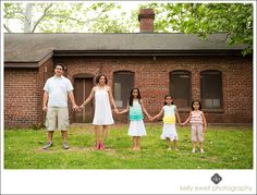 Natural light family portraits at Occoquan Regional Park in Lorton VA