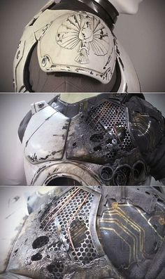 Jaeger Pilot Suit Details | Futuristic design and Scifi art |...