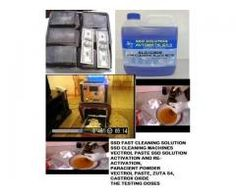 Genuine chemical,machines,powder and technicians to clean black 81 711 1572 South africa