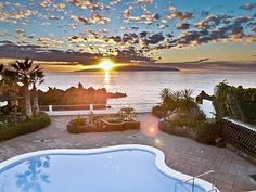 Villa Bellevue: Stunning Oceanfront Villa, Next To Beach, Heated ... | HomeAway