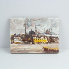 The Painting Magnet Of istanbul