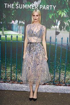 Poppy Delevingne.. Christopher Kane dress..