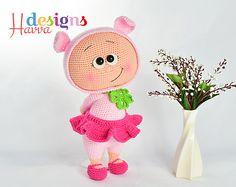Ravelry: Bonnie With Pig Costume pattern by Havva Ünlü