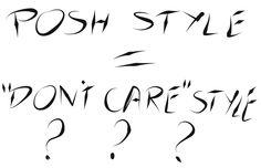 posh style today