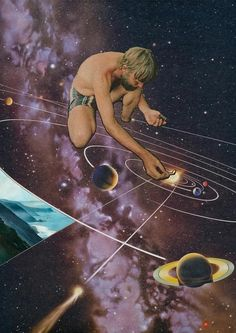 Collage by Mariano Peccinetti; Intergalactic Photomontages to Delight and Intrigue | AnOther