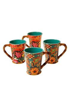 Certified International Tracy Porter® For Poetic Wanderlust® 'Eden Ranch' Mugs (Set of 4) available at #Nordstrom