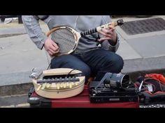 Amazingly creative street musician in London - YouTube