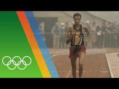 • Abebe Bikila wins Marathon barefooted   Epic Olympic Moments