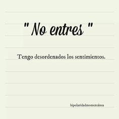 No Entres Postal para Enviar Nº19298 #amor #romanticas #postales