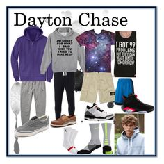 """""""Dayton Chase's Style"""" by samantha-whitt ❤ liked on Polyvore featuring Polo Ralph Lauren, Evisu, STONE ISLAND, NIKE and Sperry Top-Sider"""